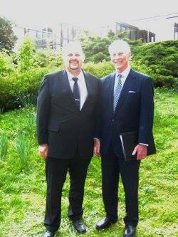 Brian Tracy und Swen-William