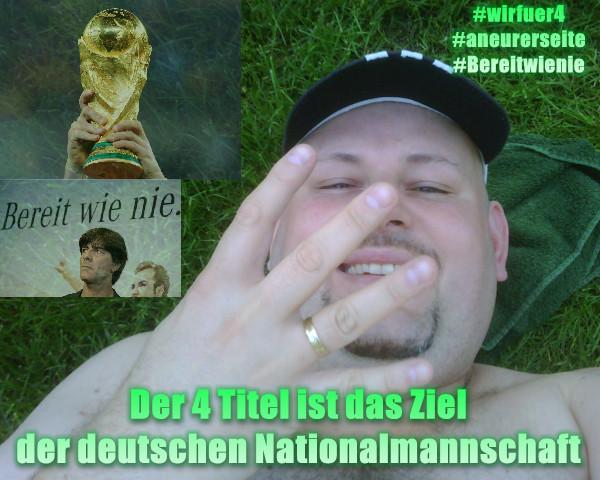 Der 4 WM-Titel für Deutschland in Brasilien