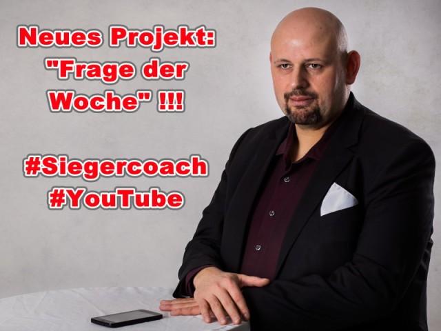 Blog Neues Projekt Frage der Woche Siegercoach