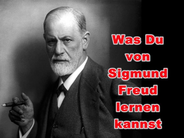 Was Du von Siegmund Freud lernen kannst Blog #Siegercoach