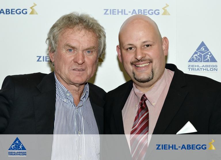 Torwartlegende Sepp Maier und Trainerlegende Swen-William Bormann
