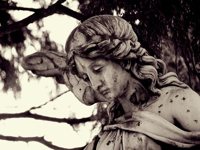 Trauer Engel Mama