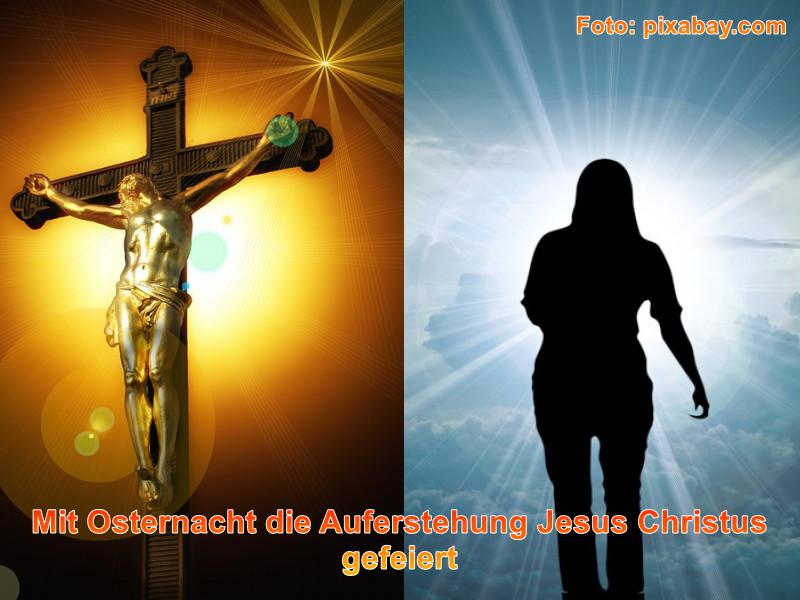Blogbeitrag Mit Osternacht die Auferstehung Jesus Christus gefeiert